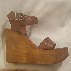 Steve Madden Belma Wedge Sandals size 9